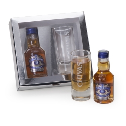 Kit Whisky Chivas miniatura